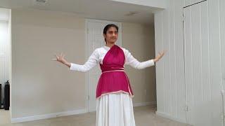 Nagada Sang Dhol Tutorial 2 #DiwaliDance for global unity #aditigoel #sisterjenna #americameditating
