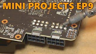 ASUS RTX 2080 Power Connector Repair (Black Screen Crash\/Loud Fan Fix) (Mini Projects Ep.9)