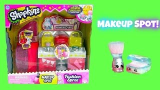 Shopkins Make-Up Spot Play Set And Shopkins Season 3 Blind Baskets