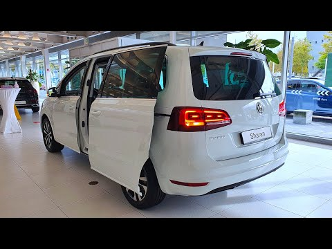 New Volkswagen Sharan United 2020 in-Depth Review