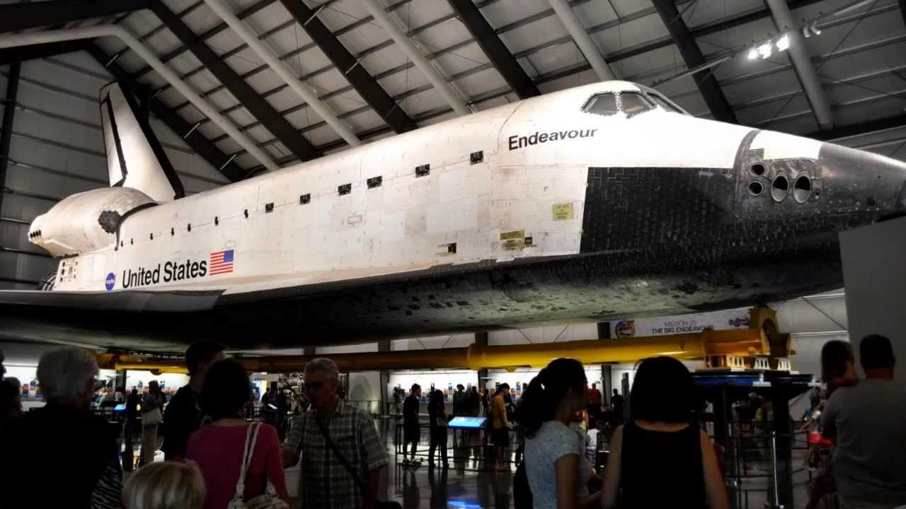 The Endeavour California Science Museum Los Angeles California - Nasa museums in usa