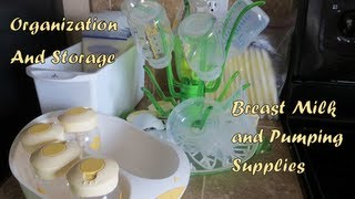 How to Store Breast Milk and Pumping Supplies