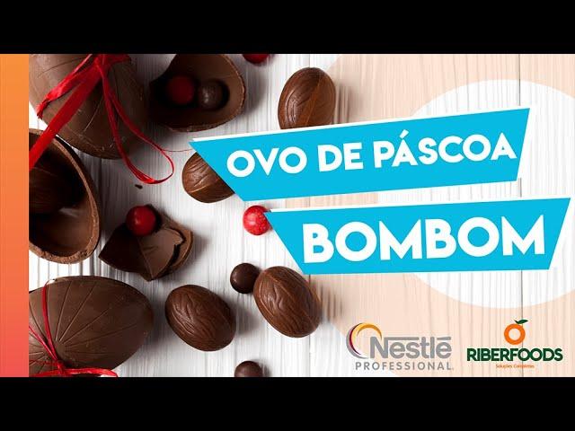 Receita super prática de Ovo Bombom com Nestlé