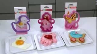 Формочки для печенья универсальные Delicia Kids