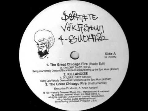 Verbally Diseased-The Great Chicago Fire (Instrumental)