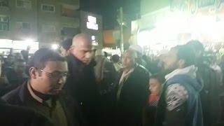 وائل جمعة في جنازة والد «أبو تريكة»