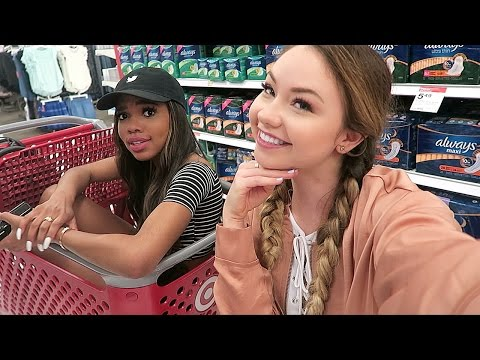 YOUTUBERS GO WILD IN TARGET | Meredith Foster