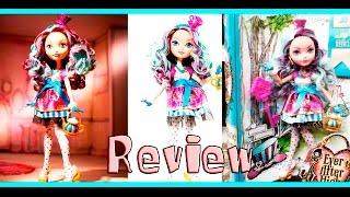 Review de brinquedos - Ever After High Rebel Madeline Hatter - Mattel
