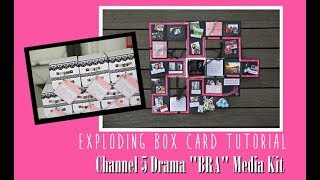 EXPLODING BOX FULL TUTORIAL - Channel 5 Drama BRA Media Kit