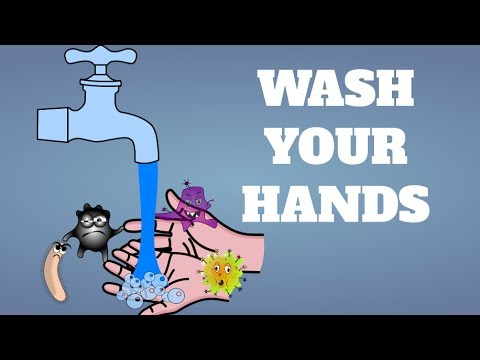 Wash Your Hands Song for Kids - Children learning how to have good habits