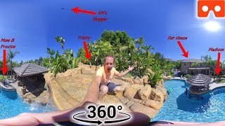 Gambar cover 360 House Tour! Epic Way to Explore Our House and Backyard Pool!!!