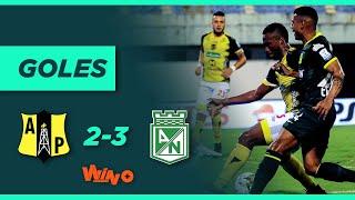Alianza Petrolera vs. Nacional (2-3)   Liga BetPlay Dimayor 2020 Fecha 19