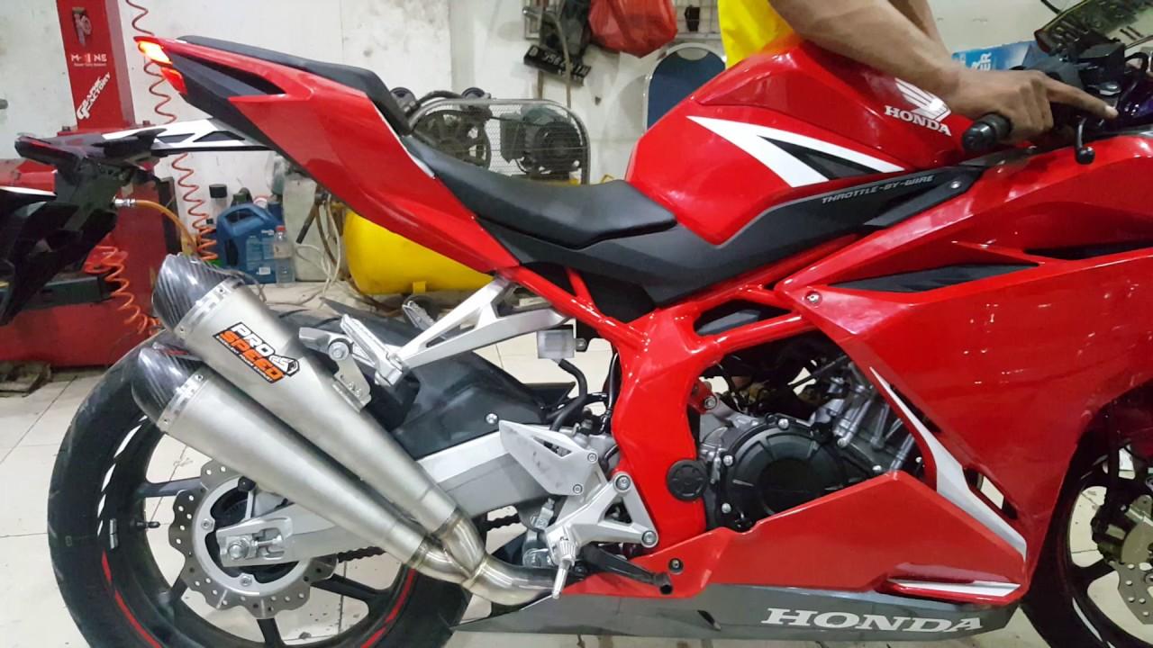 Knalpot Pro Speed Double Mf New Honda Cbr 250 Rr Xtreme Motor Sport
