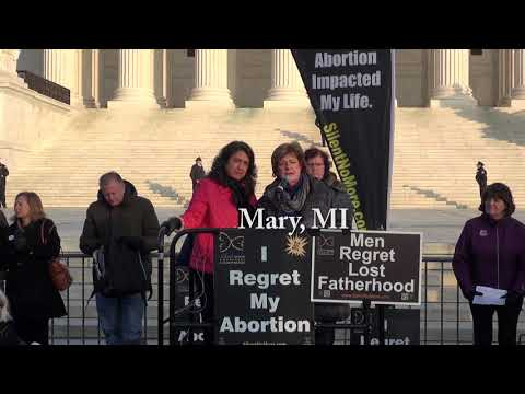 Mary's 2019 March for Life Testimony