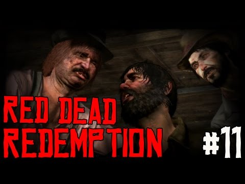 "RED DEAD REDEMPTION Ep 11 - ""Unluck Of The Irish!!!"" (Gameplay Walkthrough)"