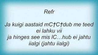 Maarja - Puudutus (Feat. Koit Toome) Lyrics