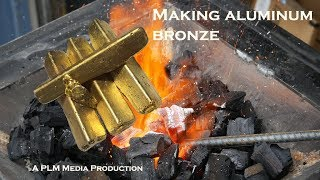 Making aluminum bronze