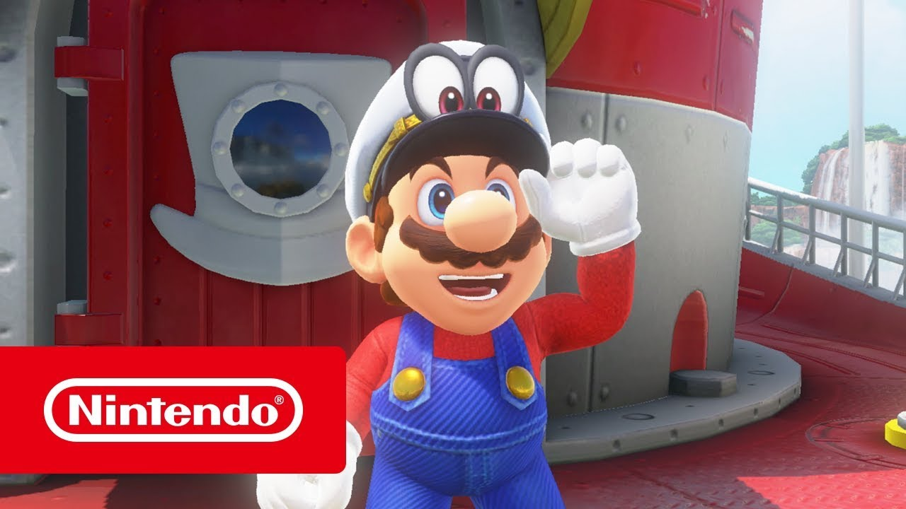 Super Mario Odyssey Reviewtrailer Nintendo Switch Youtube