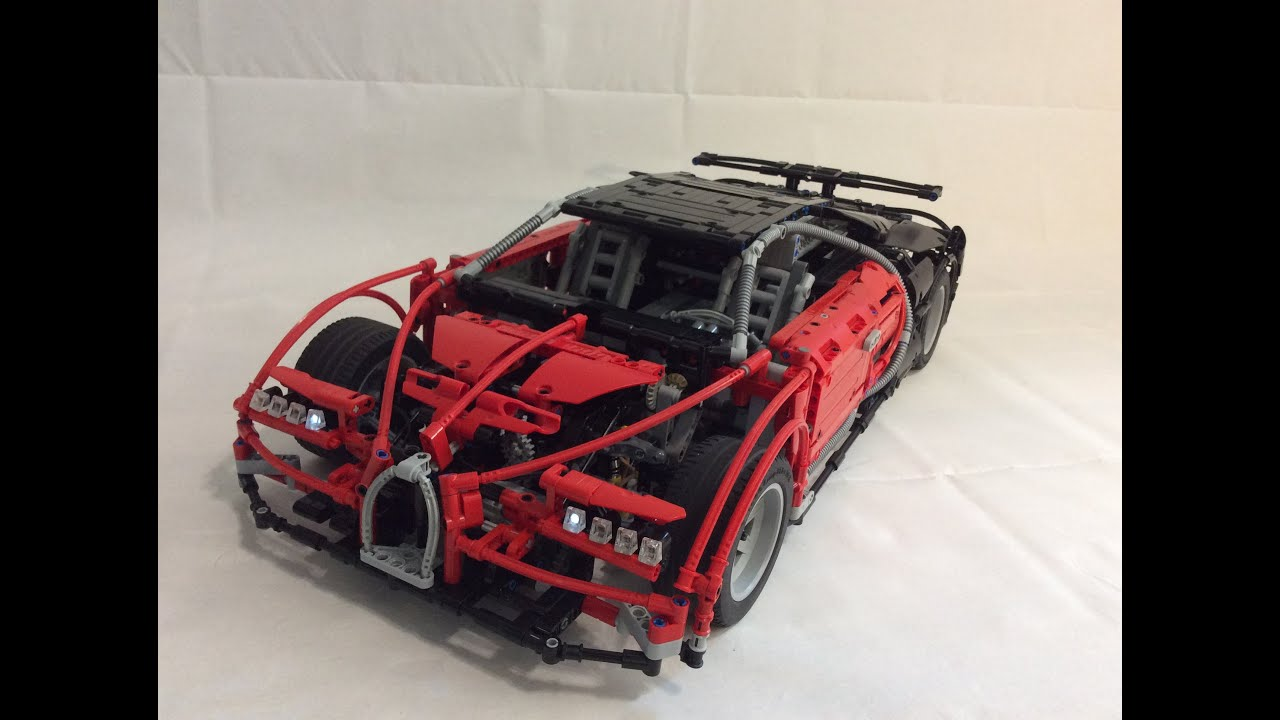 lego technic bugatti chiron 7 r youtube. Black Bedroom Furniture Sets. Home Design Ideas