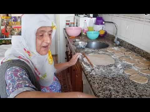 Турчанки на кухне.Турецкая свекровь.Катлама Базлама Турецкая Лепёшка