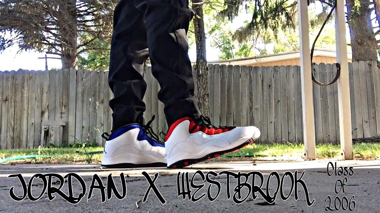 jordan 10 westbrook