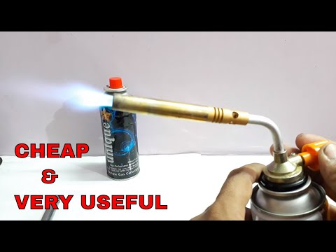 How to use Gas Torch.