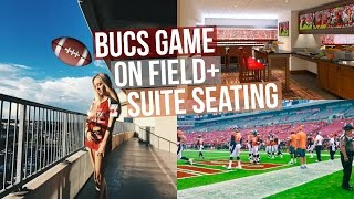 BUCS GAME! Being on field + Suite Seating!