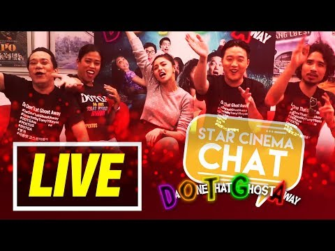LIVE: Star Cinema Chat with Pektus | 'Da One That Ghost Away'