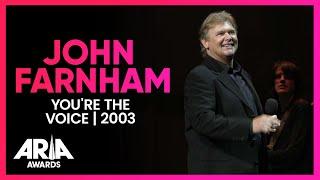 Download Mp3 John Farnham: You're The Voice   2003 Aria Awards