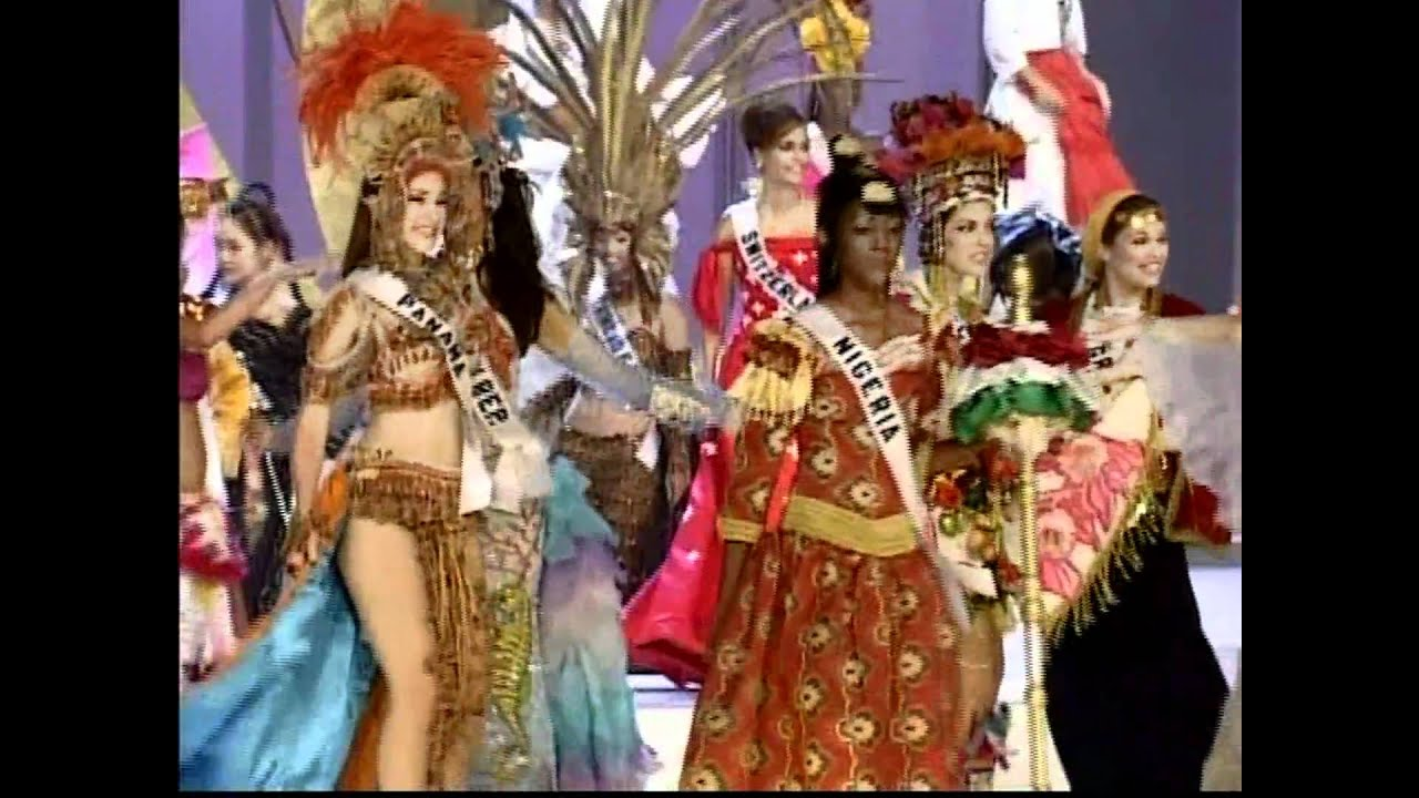 HD MISS UNIVERSE 2003 National Costume Clip YouTube