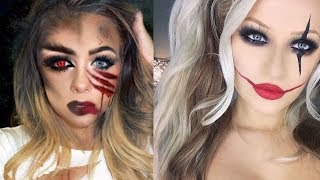 Top Halloween Makeup Tutorials Compilation   Scary Special Effects - How to Make up Halloween