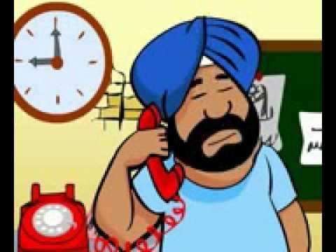 Santa And Banta jokes Hindi Video.(Cool jokes).
