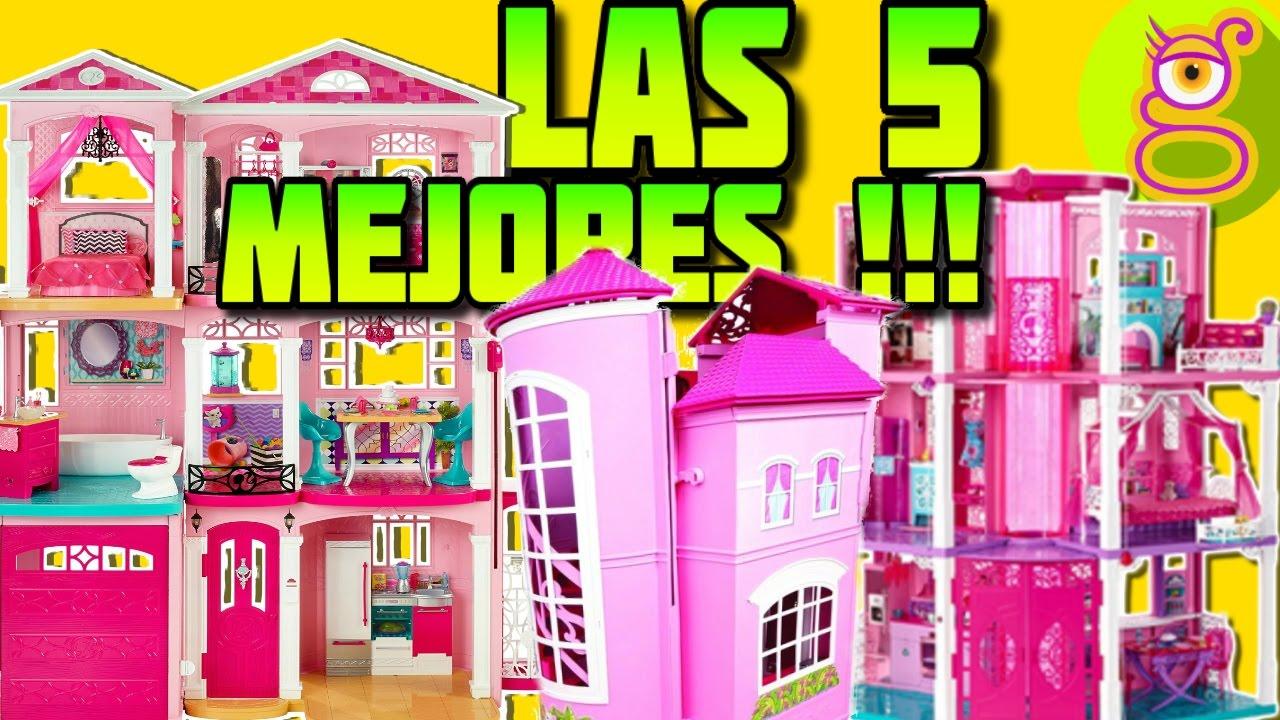 Las 5 mejores casas de barbie juguetes de barbie - Arreglar la casa de barbie ...