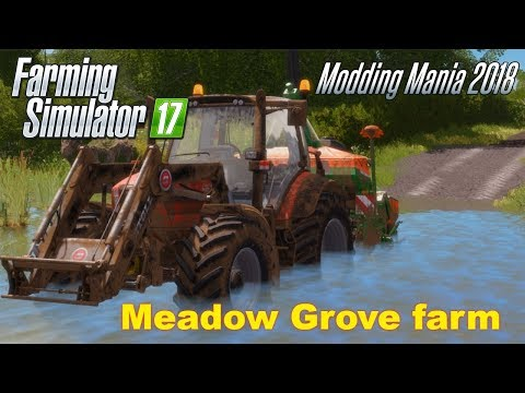 Farming Simulator 17 | Meadow Grove farm | Timelapse | Episode 15
