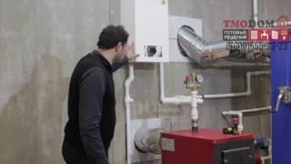 видео Отопление дома воздушный тепловой насос (воздух-вода)