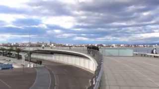 Valencia ,Spain ,beach and Marina