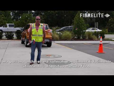 Composite Access Covers Tested Under 32,500 lb RV: Fibrelite & Competitor - Italian Subtitles