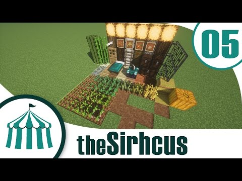 "The Sirhcus | Ep. 5 | ""Retexturing"" | Vanilla Minecraft"