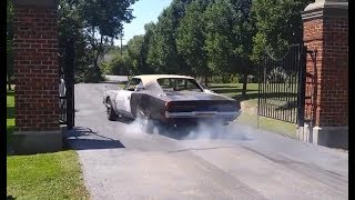 "1969 Dodge Charger Hellcat ""Reverence"" - driving & burnout"
