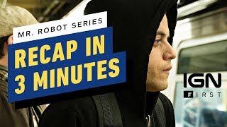 Mr. Robot Cast Recaps 3 Seasons in 3 Minutes