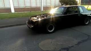 Walk around Buick Regal 396 BBC with open Headers