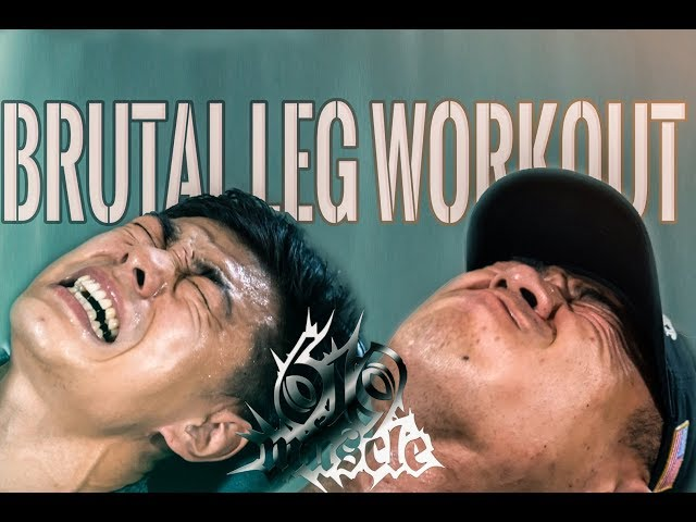 619 MUSCLE TV: Training Series - Shuai and Elwin Leg-Thrashing!