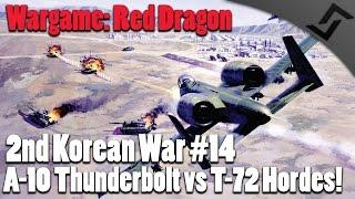 wargame red dragon 2nd korean war 14 a 10 thunderbolt vs t 72 hordes