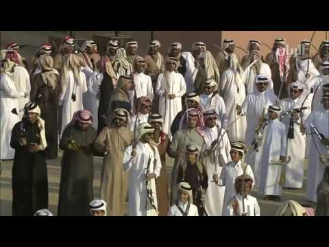 Traditional Arabian Sword  Dance