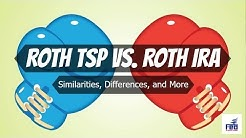 Roth TSP vs. Roth IRA Showdown