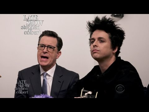 Green Day And Stephen Sing 'Good Riddance (Affordable Lyrics Version)'