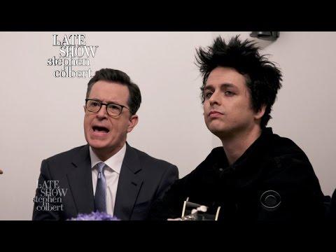 Green Day And Stephen Sing 'Good Riddance (Affordable Lyrics Version)'