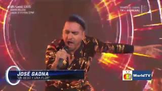 #José #Gaona interpreta Un Beso Y Una Flor en los cuatro finalistas