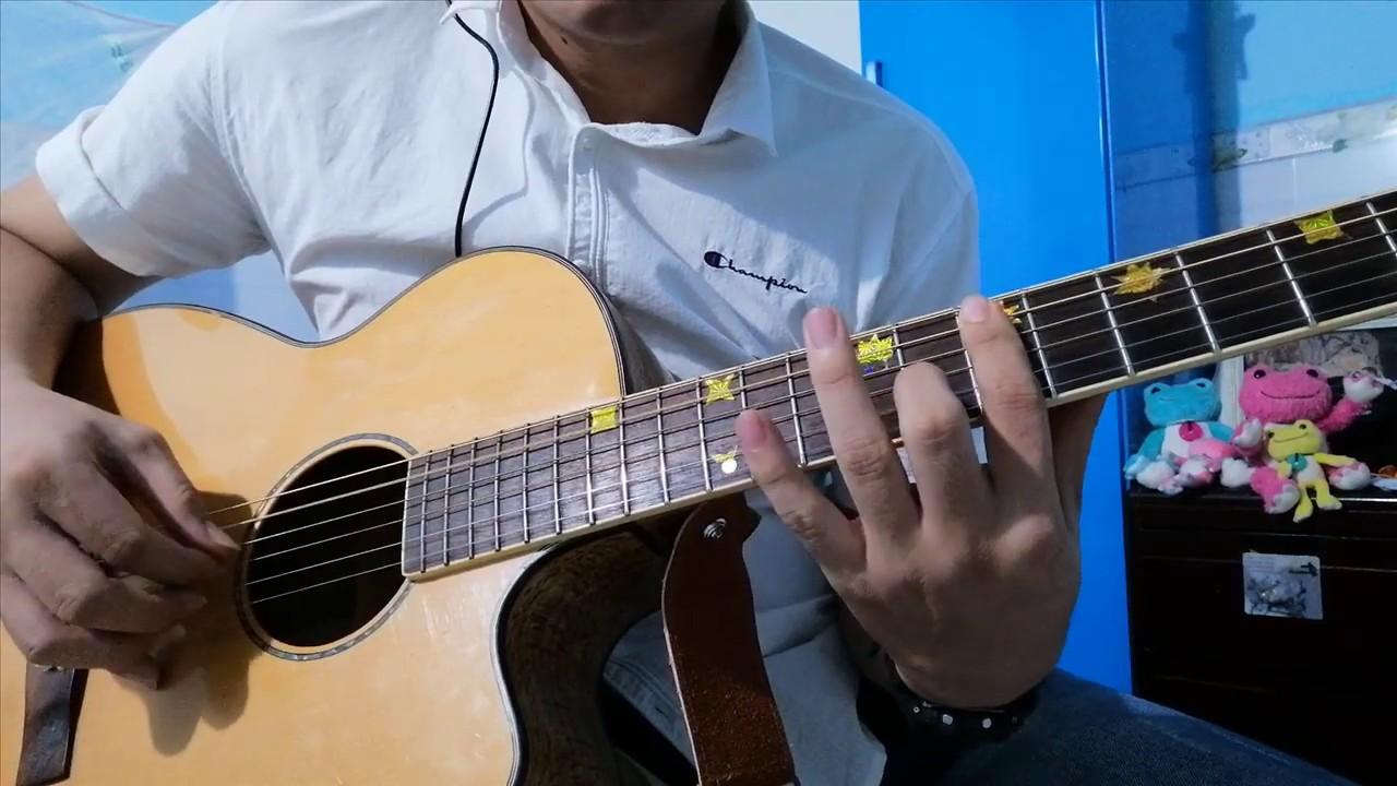 [GuitarSolo] Tình khúc vàng – Đan Trường