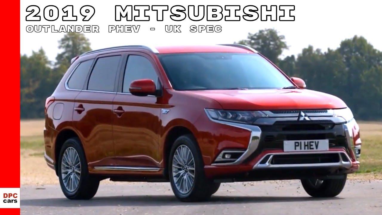2019 Mitsubishi Outlander PHEV - UK Spec